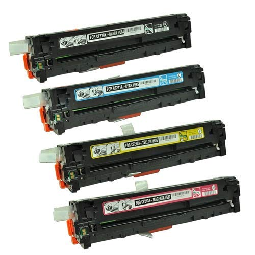 Calitoner Remanufactured Toner Cartridge Replacement for HP 131A ( Black,Cyan,Magenta,Yellow , 4-Pack ) Photo #8