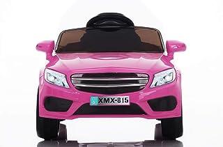 Babycar Coche eléctrico para niños Babyfun (rosa) con bate