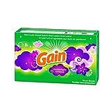 Gain Dryer Sheets - Moonlight Breeze - 60 Count Dryer Sheets Per Box - One (1) Box