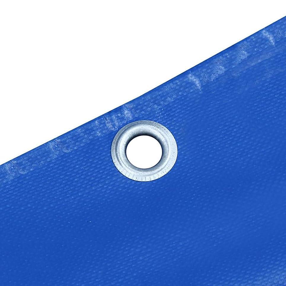 窓ギャンブルヨーグルト大型ヘビーデューティーターポリンブルーヘビーデューティー、グロメット、ホームデポ用の厚い防水タープカバー、耐久性、折りたたみ式、防腐性ターポリン防水ヘビーデューティー、3M×4M