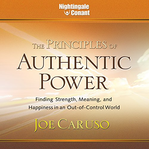 The Principles of Authentic Power audiobook cover art