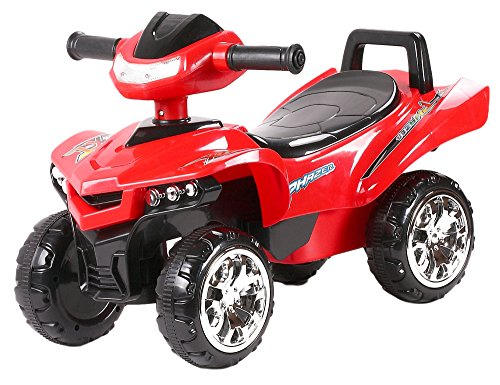 Toy House Racing Turbo Push ATV, Red