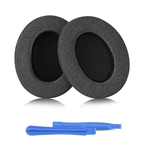 Elzo Almohadillas de Repuesto para Auriculares Audio Technica Ath-m50xbt Ath-m50x M40x M30x M20x M10x ATH-anc9, Almohadillas Profesionales/Almohadillas para Los Oídos/Copas para Los Oídos