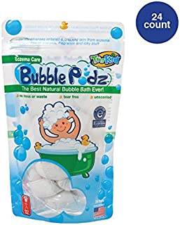 bubble bath for babies with eczema