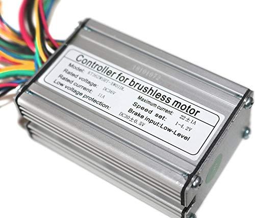 bmc-world   Brushless Controller, Torque Controller, Steuergerät, 36V, 11A/500W, E-Bike, Elektro Fahrrad, Pedelec, Scooter