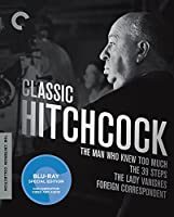 Classic Hitchcock (Man Who Knew Too Much, 39 Steps, Lady Vanishes, Foreign Correspondent) [Blu-ray]