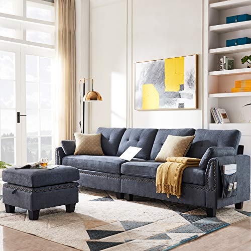 HONBAY Reversible Sectional Sofa