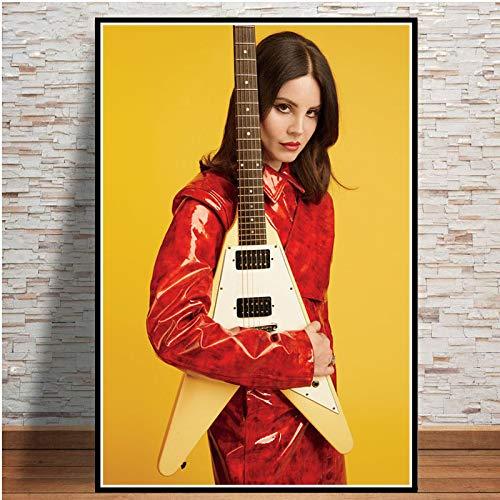 5d diamant schilderij kits volledige boor DIY vrouw gitaar 40x50cm Geen frame volwassen kind diamant schilderij kits spel Gift