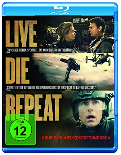 Edge of Tomorrow - Live.Die.Repeat [Blu-ray]
