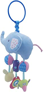 Anniston Kids Toys, Cartoon Elephant Animal Baby Rattle Toy Bed Hanging Wind Chimes Plush Dolls Baby Toys Perfect Fun Time...