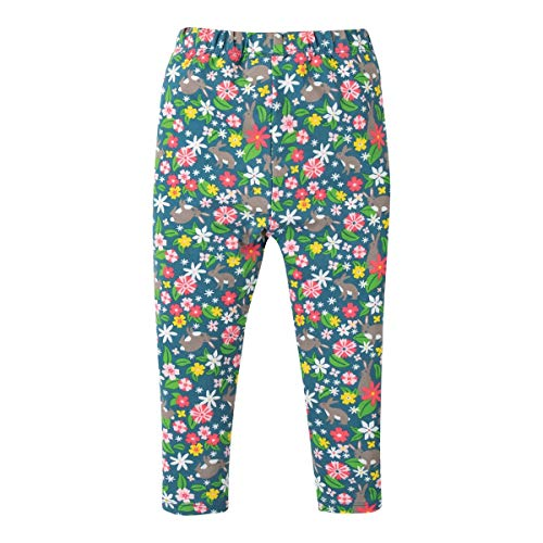 Leggings Blumen Hasen