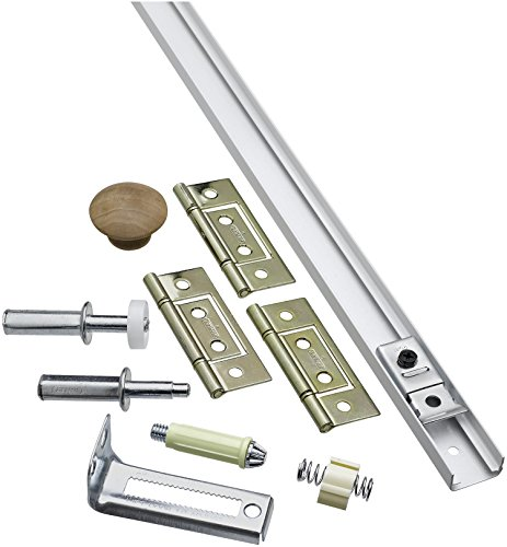 National Hardware N343-715 391S Folding Door Hardware Set in White,36 Inch