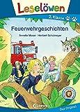 Leselöwen 2. Klasse - Feuerwehrgeschichten: Erstlesebuch für Kinder ab 7 Jahre (German Edition)