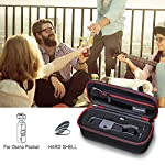 """Smatree Hard Carrying Case Compatible with DJI Osmo Pocket 2/Osmo Pocket, Extension Rod, OSMO Pocket Waterproof Case and… 10 Size: Small, Dimensions: 7.6"""" x3.5"""" x2.8"""" compact and easy to store in backpacks or carry-on luggage; recommend for traveling and home storage. Nice shaped compartments fit for osmo pocket, it can holds 1 x osmo pocket,4 x Neutral density filters,2 x SD Cards,2 x Smartphone Adapter(Refer to pictures). With comfortable hand strap for easy carrying. The hand strap can be easily attached to a belt or large bag."""
