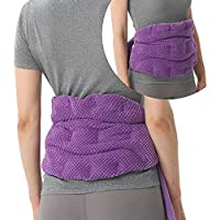 Uncn Microwave Neck and Shoulder Lower Back Pain Relief Heating Pad