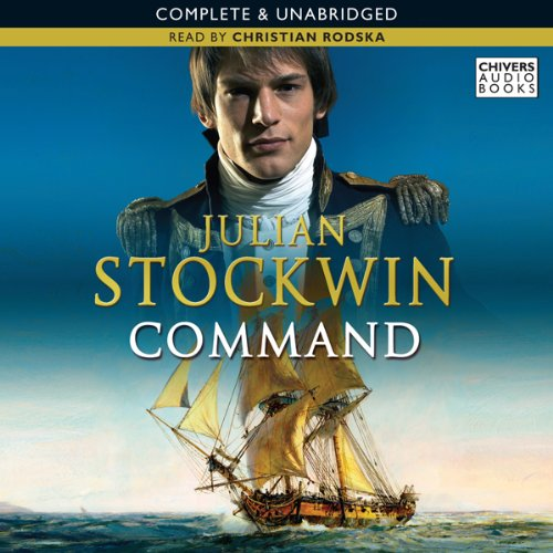 Command audiobook cover art