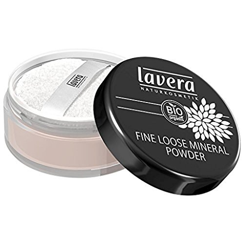 Lavera Fine Loose Mineral Powder - Transparent, 10 g