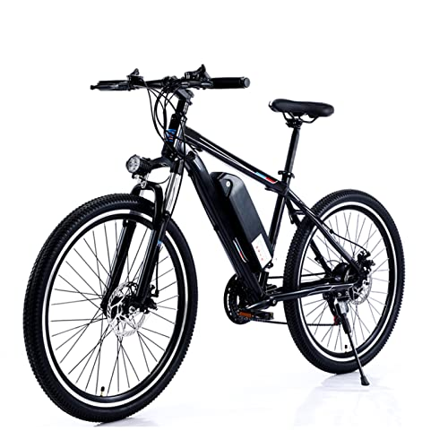 HMEI Bicicleta electrica Plegable Ligera Bicicleta eléctrica para Adultos Bicicleta eléctrica de 26 Pulgadas 750W 48V Bicicleta eléctrica de Alta Potencia Bicicleta de montaña de Velocidad Variable