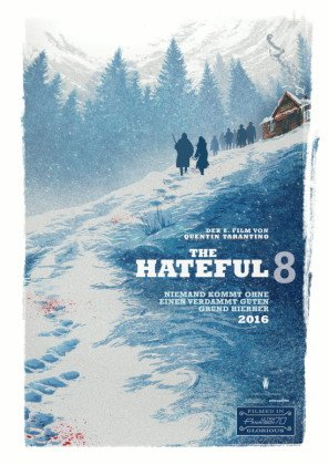The Hateful Eight – German Movie Wall Poster Print - 43cm x 61cm / 17 Inches x 24 Inches A2 Hateful 8