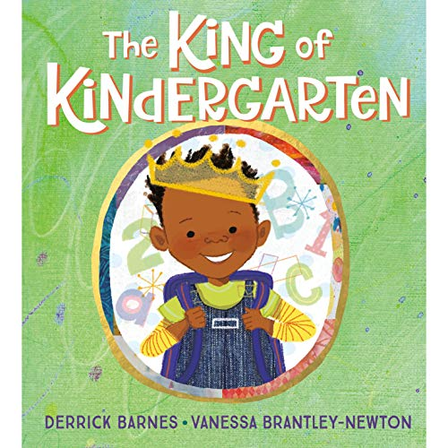 The King of Kindergarten audiobook cover art