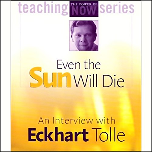 Even the Sun Will Die audiobook cover art