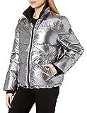 UGG Women's Izzie Puffer Jacket Nylon, Silver Metallic, X-Large