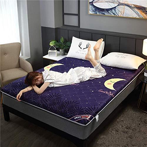 Verdickte Boden Futon Matratzen, faltbare Tatami Matratze Ultra Soft Schlafsaal...