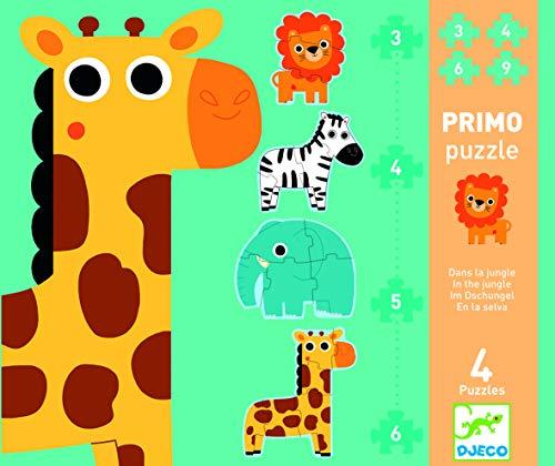 DJECO Honore & Friends Progressive Jigsaw Puzzle