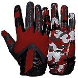 Prostyle Sniper American Football Receiver Handschuhe - rot Gr. XL