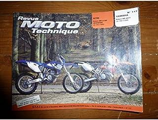 REVUE MOTO TECHNIQUE KTM 250, 300 GS,EGS,EXC de 1992 à 2000 YAMAHA ENDURO WR400F de 1998 à 2000 RRMT0117.1 - Réédition