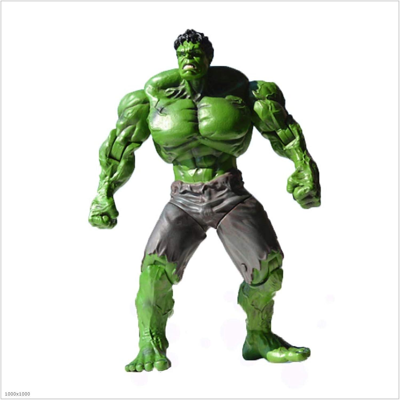 connotación de lujo discreta YONGMEI Juguete movible de súperhéroe, Hulk, Hulk, Hulk, Modelo, colección (Color   Azul)  varios tamaños