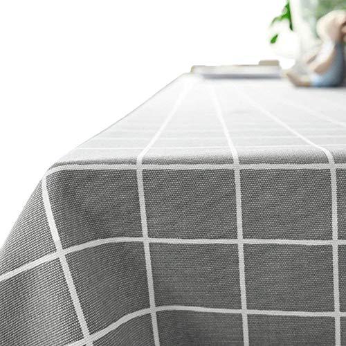 G.G.G. Mantel Tela de Tabla Antideslizante del algodón del Poliester Cubierta Simple de la Tabla de la Manera Multiusos (140 x 200 cm, Retro)