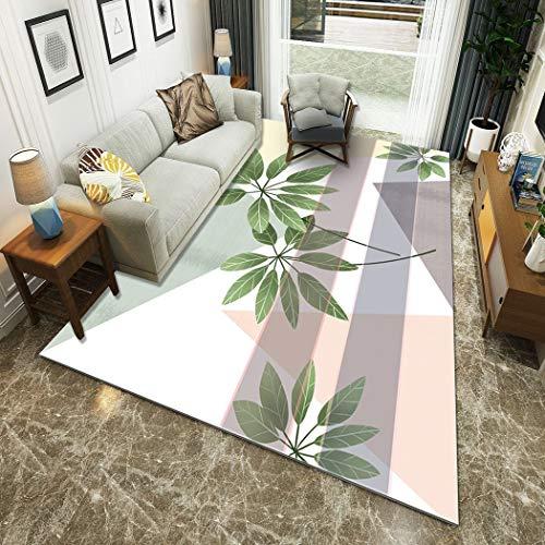 W&HH SHOP huishoudartikelen nieuwe vloertapijt, mooie tapijt, superieure zachte kwaliteit, dikke mat, kamerdecoratie, woonkamer, slaapkamer, tapijt, 160 x 230 cm
