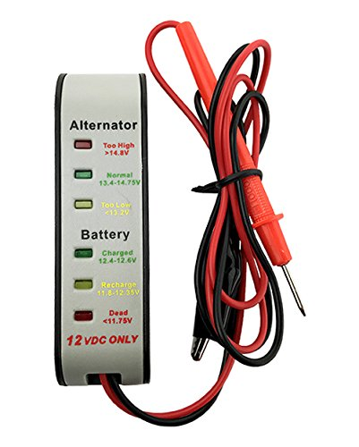 Lowest Price! Hand Held Charging System Analyzer for Automotive Batteries 2 Year Warranty
