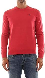 Napapijri DROZ N0YH2T Knitwear Men RED M 海外卖家直邮