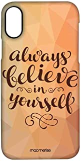 Macmerise IPCIPXPMI0228 Believe in yourself - Pro Case for iPhone X - Multicolor (Pack of1)