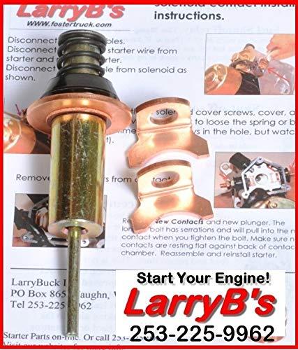 LarryB's Starter solenoid Heavy Duty Rebuild kit for Dodge Cummins Denso 89-2006