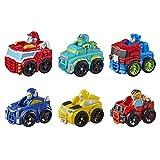Playskool Heroes Transformers Rescue Bots Academy Mini BOT Flitzer Robot, Juguete de 5 cm para niños a Partir de 3 años