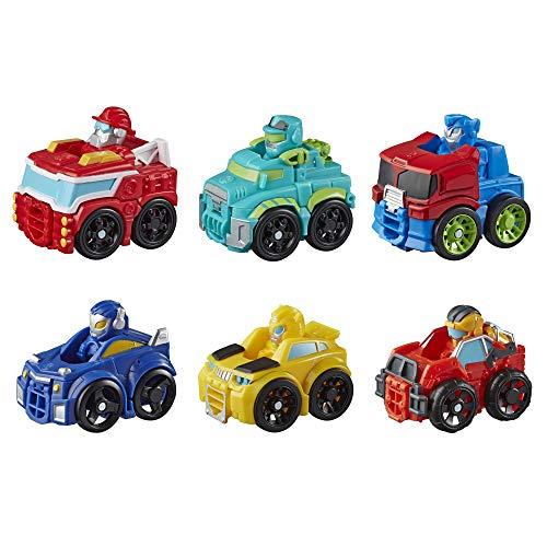 Transformers Playskool Heroes Rescue Bots Academy Mini Bot Flitzer Roboter Spielzeug, 5 cm großes Spielzeugauto für Kinder ab 3 Jahren