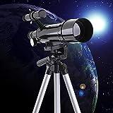 Telescopio Monocular Astronomicos Profesionales para Ninos Adulto, Telescopio Astronómico con Espejo Buscador para Observar Las Estrellas Principiantes