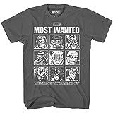 Most Wanted Avengers Villains Thanos Doc Ock Green Goblin Venom Red Skull Carnage Loki Tee Mens Adult Graphic T-Shirt