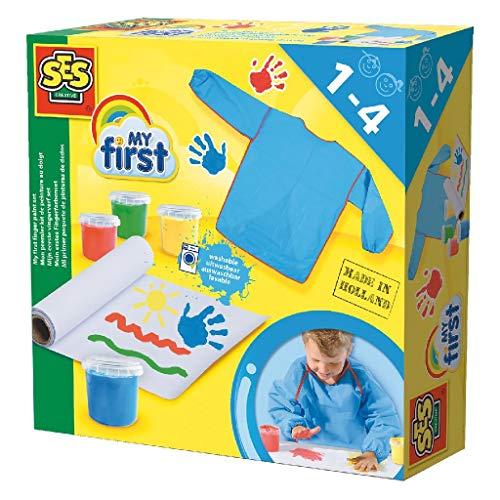 SES Creative Mi Primer Paquete de Pinturas de Dedos