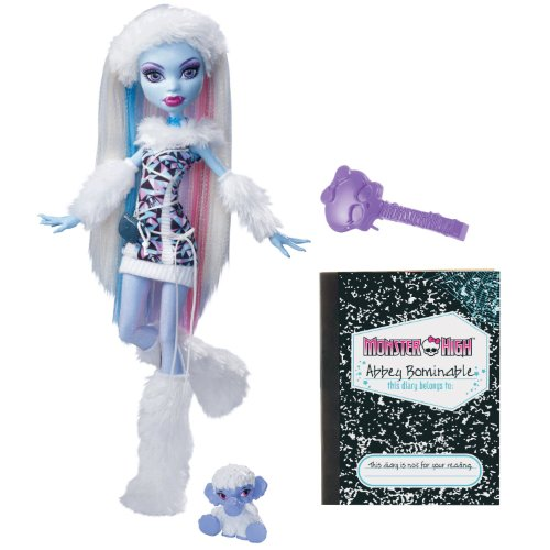Mattel V7988 - Monster High Puppe Abbey Bominable, Tochter des Yeti