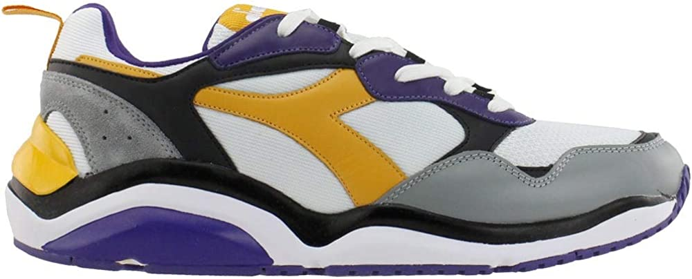 Diadora Mens Whizz Run Lace Up Sneakers Shoes Casual - Multi