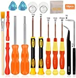 E.Durable Nintendo Screwdriver Set 18 in 1 Professional Full Tri wing Security Screwdrivers Gamebit Repair Tool Kit for Nintendo Switch JoyCon New 3DS/Wii/NES/SNES/DS Lite/GBA/Gamecube