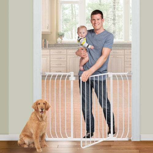 Summer Multi-Use Extra Tall Walk-Thru Baby Gate, White