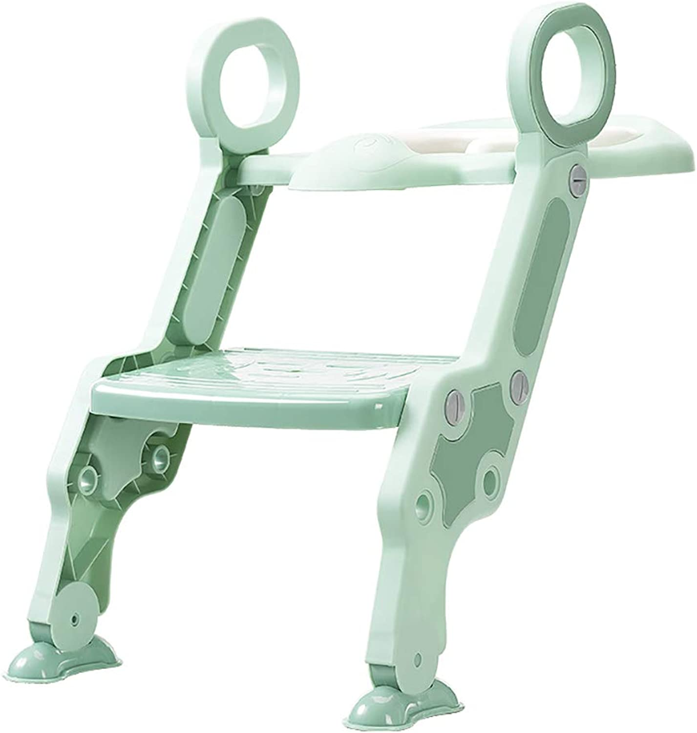 Baby Potty Toilet Trainer Seat, with Step Stool Ladder Adjustable Toddler Potty Toilet Seat for Boy and Girl