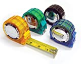 Komelon 3516 Colours Tape Measure with Acrylic Coated Steel Blade 16-Feet by 1-Inch