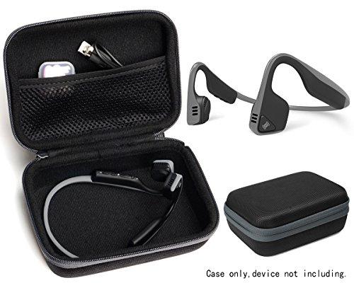 Protective case for Bone Conduction Headphones Like Aftershokz Trekz Titanium, Trekz Mini, Trekz Air, Bluez 2, 2S; KSCAT, Sades, DIGICare, allmity, Yaklee, Abco Tech, LQING, longee, HYON, 4inloveme