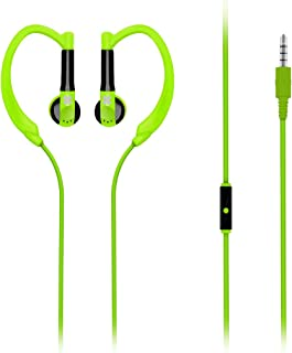 Promate Gaudy Sports Headphones In-Ear Earphones Stereo Portable Lightweight For Jogging, Running, Sports, Gym For Iphone ...